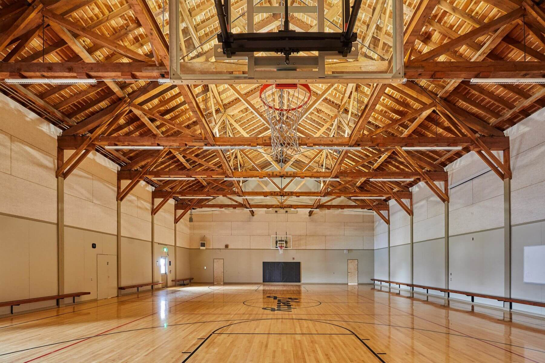 Liberty Elementary School Gymnasium - Tillamook, OR | <em>Structural Engineering</em>